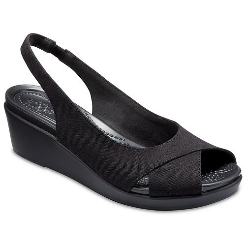 80af65120cbd6 Crocs Leigh Ann Women s Wedge Sandals