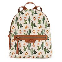 T-Shirt & Jeans Cactus Canvas Backpack