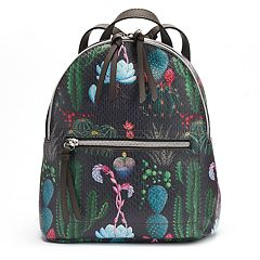 T-Shirt & Jeans Floral Cactus Backpack