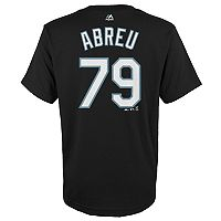 Boys 4-18 Chicago White Sox José Abreu Player Name and Number Tee