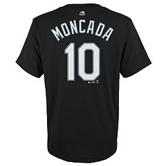 Boys 4-18 Chicago White Sox Yoan Moncada Player Name and Number Tee