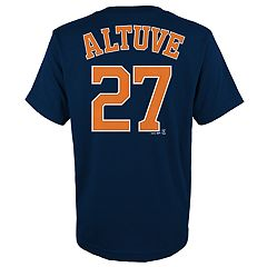 Boys 4-18 Houston Astros José Altuve Player Name and Number Tee