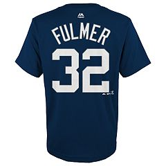 Boys 4-18 Detroit Tigers Michael Fulmer Player Name and Number Tee