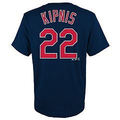 Boys 4-18 Cleveland Indians Jason Kipnis Player Name and Number Tee