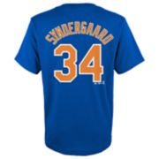 Boys 4-18 New York Mets Noah Syndergaard Player Name and Number Tee