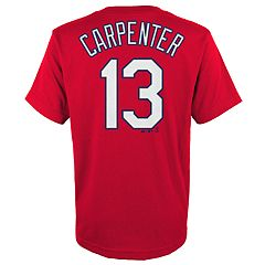 Boys 4-18 St. Louis Cardinals Matt Carpenter Player Name and Number Tee