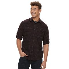Men's Urban Pipeline™ Textured Button-Down Shirt