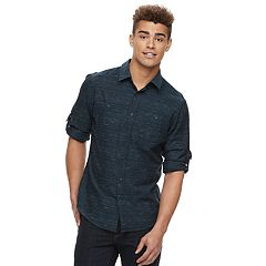 Men's Urban Pipeline® Textured Button-Down Shirt