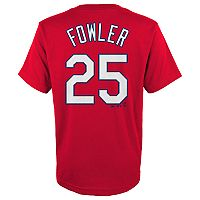 Boys 4-18 St. Louis Cardinals Dexter Fowler Player Name and Number Tee