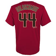 Boys 4-18 Arizona Diamondbacks Paul Goldschmidt Player Name and Number Tee