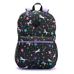 Kids Unicorn Galaxy Backpack, Lunch Bag, Tablet Case, Pencil Case & Water Bottle Set