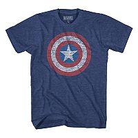Boys 8-20 Captain America Sheild Tee