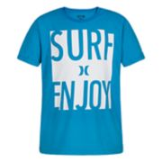 "Boys 4-7 Hurley ""Surf Enjoy"" Graphic Tee"