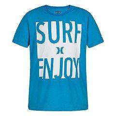Boys 4-7 Hurley 'Surf Enjoy' Graphic Tee