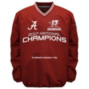 Men's Franchise Club Alabama Crimson Tide 17-Time National Champions Windshell Top