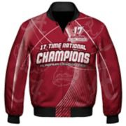 Men's Franchise Club Alabama Crimson Tide 17-Time National Champions Sublimated Jacket