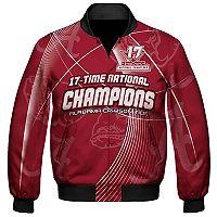 Men's Franchise Club Alabama Crimson Tide 17-Time National Champions Sublimated Jacket