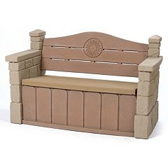 Click here to buy Step2 Outdoor Storage Bench.