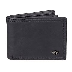 Men's Dockers® RFID-Blocking Extra Capacity Leather Slimfold Wallet