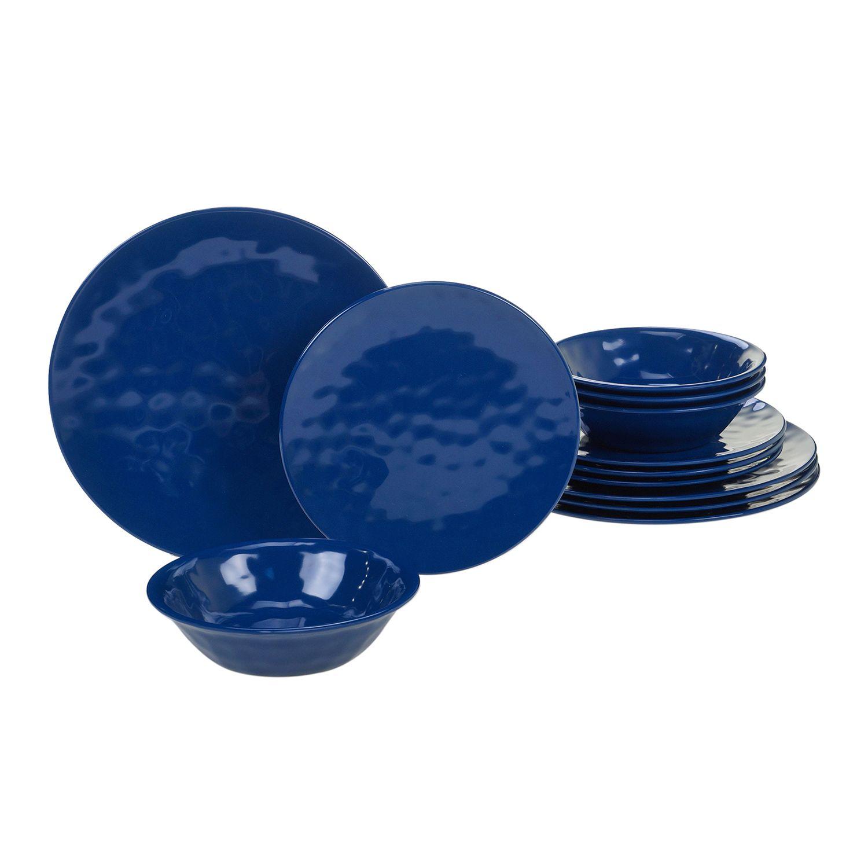 sc 1 st  Kohlu0027s & Certified International 12-piece Solid Melamine Dinnerware Set