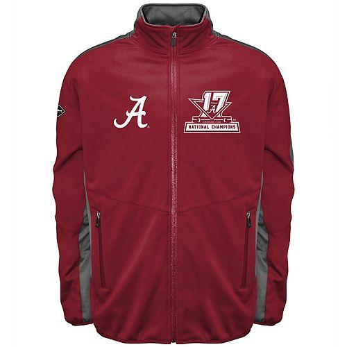 Men's Franchise Club Alabama Crimson Tide 17-Time National Champions Softshell Jacket