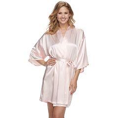 Women's Apt. 9® Satin Wrap Robe