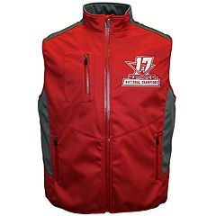 Men's Franchise Club Alabama Crimson Tide 17-Time National Champions Softshell Vest