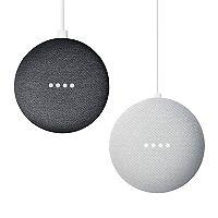 Google Home Mini 2-pack