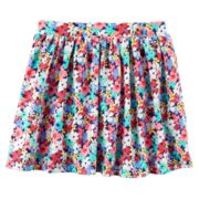 Girls 4-8 Carter's Printed Skort