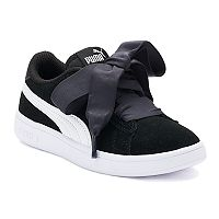 PUMA Smash v2 Ribbon Preschool Girls' Sneakers