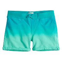 Girls 7-16 SO® Printed Soft Shorts