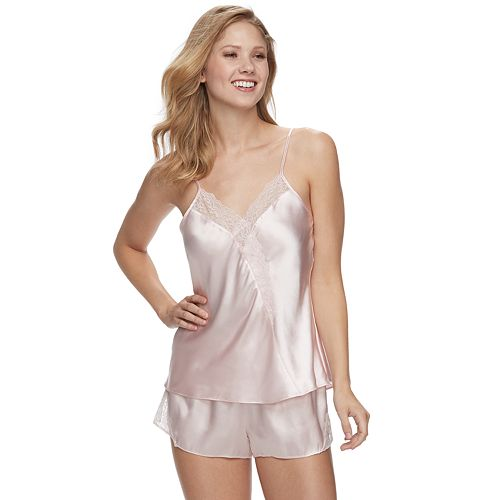 81fd377bb8 Women's Apt. 9® Satin Cami & Sleep Shorts Pajama Set