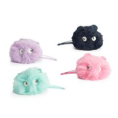 Girls 4-8 Carter's 4-pack Fuzzy Critter Hair Clips
