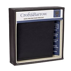 Men's Croft & Barrow® RFID-Blocking Organizer Wallet
