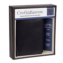 Men's Croft & Barrow® RFID-Blocking Trifold Wallet