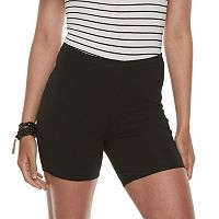 Juniors' SO® Solid Jersey Shorts