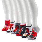 "Women's Disney / Pixar ""The Incredibles 2"" 6-Pack No-Show Socks"
