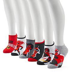 Women's Disney / Pixar 'The Incredibles 2' 6-Pack No-Show Socks