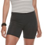Juniors' SO® Heathered Jersey Shorts