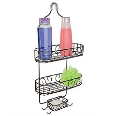 Home Basics Scroll Shower Caddy