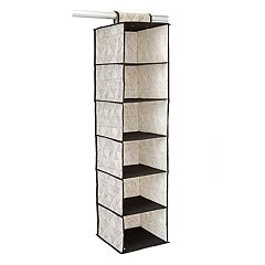 Macbeth ClosetCandie Geo Natural 6-Shelf Closet Organizer