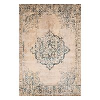 United Weavers Jules Opal Weathered Framed Floral Rug