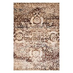 United Weavers Jules Imperial Weathered Framed Floral Rug