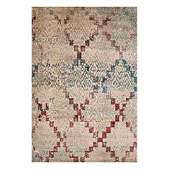 United Weavers Jules Diamonds Weathered Lattice Rug