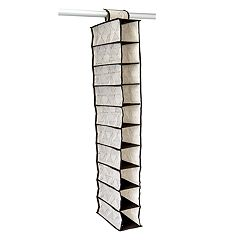 Macbeth ClosetCandie Geo Natural 10-Shelf Closet Organizer
