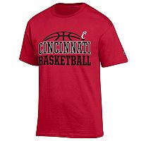 Men's Champion Cincinnati Bearcats Basketball Tee