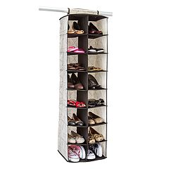Macbeth ClosetCandie Geo Natural 16-Pocket Shoe Organizer