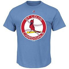 Big & Tall Majestic St. Louis Cardinals Official Logo Tee