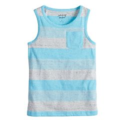 Boys 4-10 Jumping Beans® Striped Pocket Tank Top