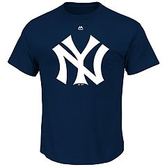 Big & Tall Majestic New York Yankees Official Logo Tee